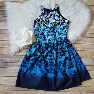 NWOT Vince Camuto ombre floral dress